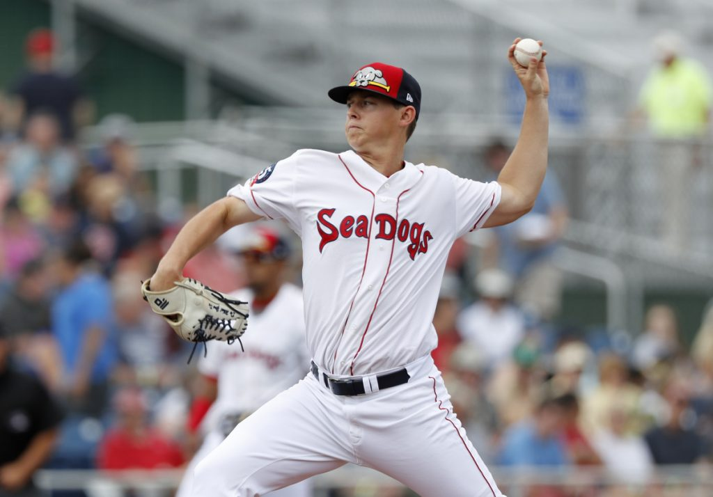 Matt Kent was impressive Thursday in a morning start at Pawtucket – hours after being called up by the Sea Dogs, showing he has the ability to compete at that level.