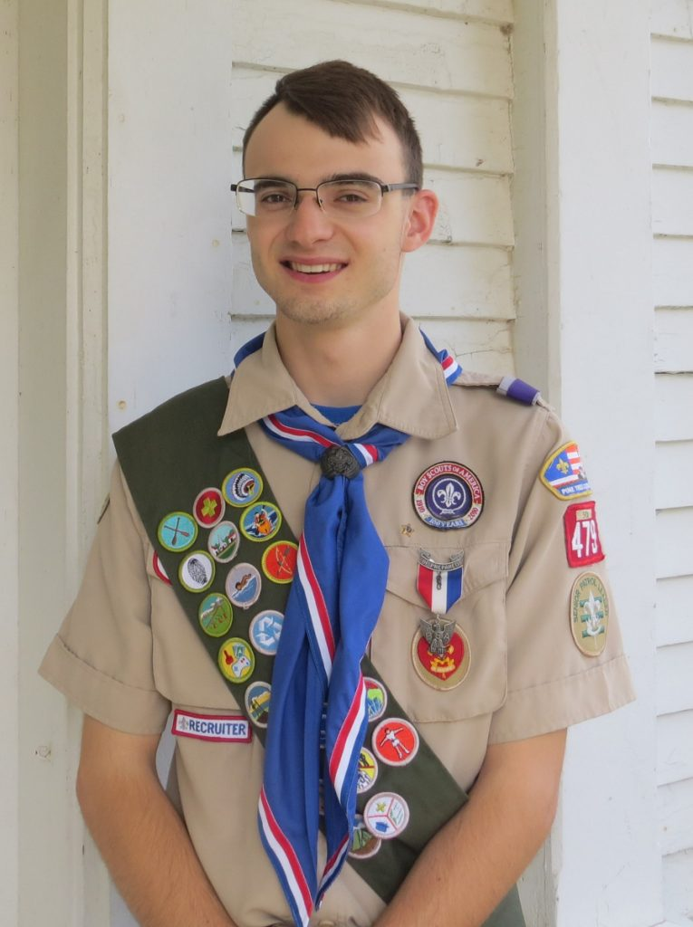 Leader Tucker Leonard, of Palermo, earned the rank of Eagle Scout during a ceremony June 16 at China Baptist Church.