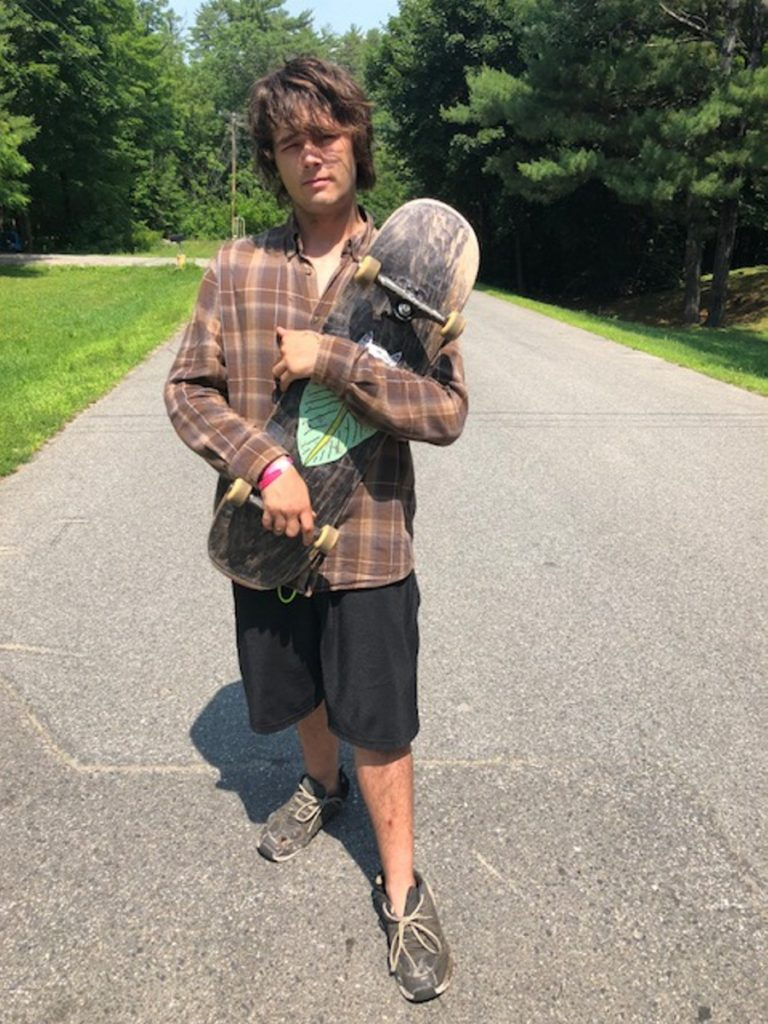 Noah Goodridge reportedly was having an epileptic episode when he was arrested by a Skowhegan police officer who had been trained in drug recognition and certified by the Maine Criminal Justice Academy. Goodridge's father, Paul Goodridge, has filed a complaint with the department.