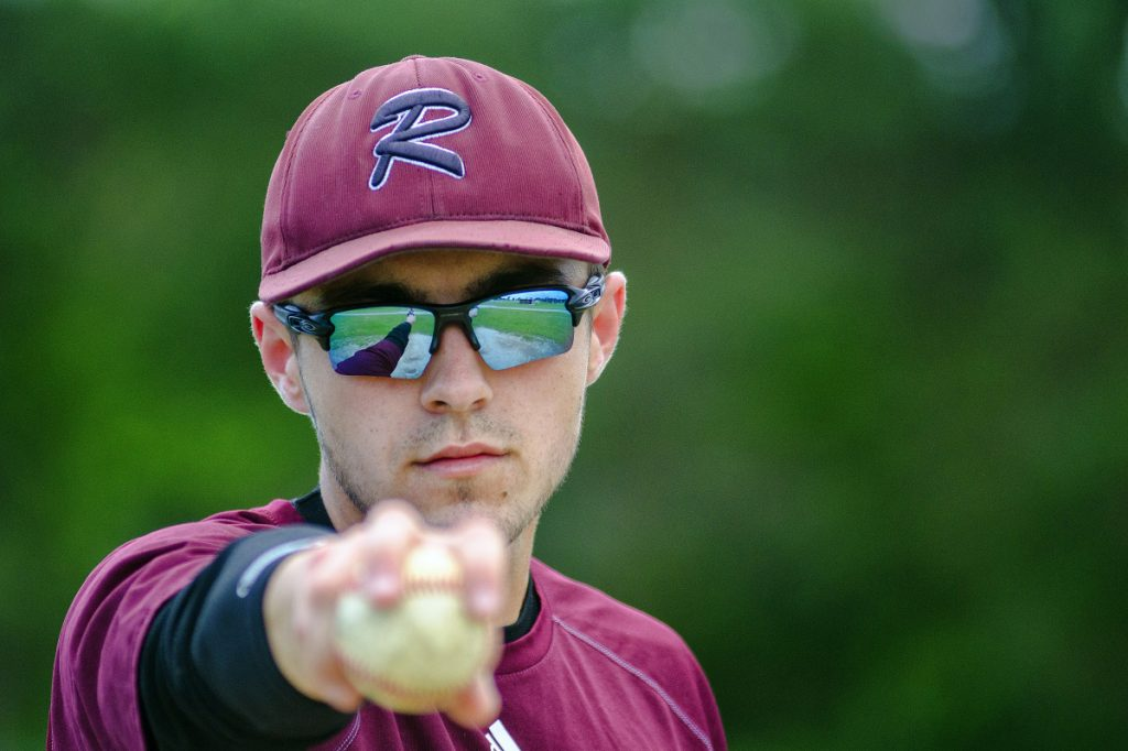 Staff photo by Joe Phelan   Richmond's Zach Small is the Kennebec Journal Baseball Player of the Year.