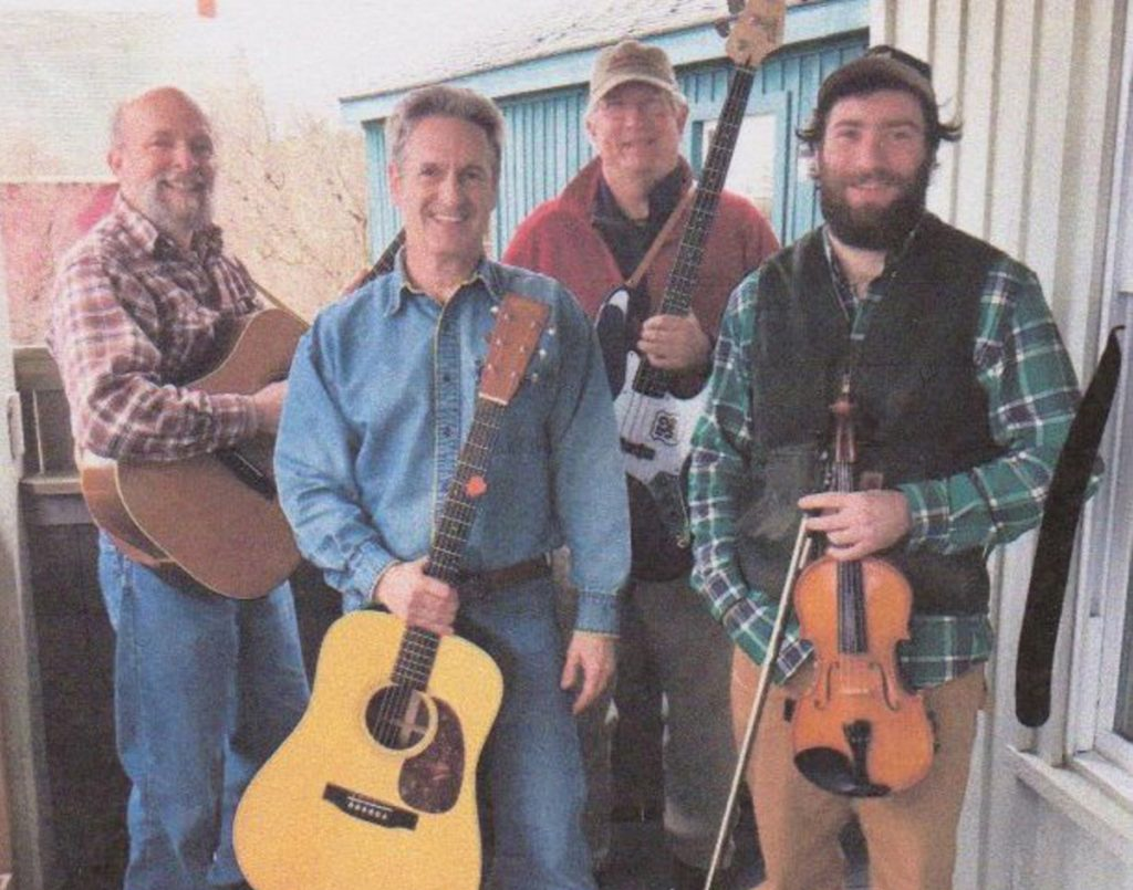 32 North, a group of mid-coast Maine artists, will be one of three bands to perform Friday, July 13, at the Jefferson Historical Society's Old Jefferson Town House.