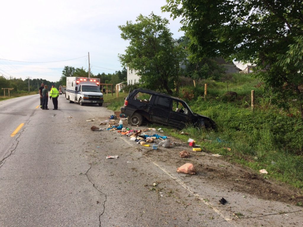 A single-car crash on Estes Avenue in Palmyra killed Helen Hunt, 58, of Burnham, according to the release, issued by Somerset County Sheriff's Office Chief Deputy James F. Ross.