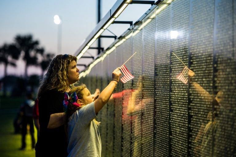 GALLERY: Wall that Heals - Kennebec Journal and Morning Sentinel