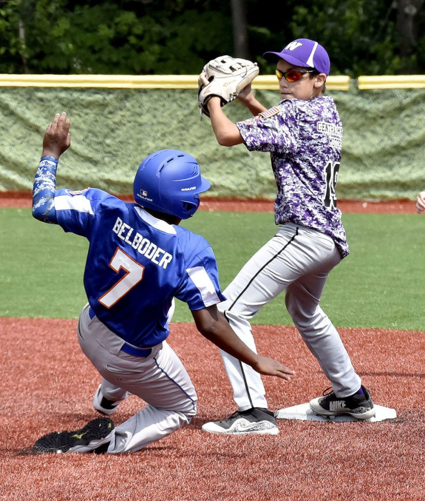 For Waterville pitcher, line drive provides big scare