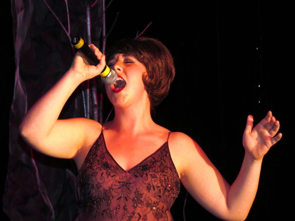 Dagmar Wetherill, a DIVA, performed during a previous show.