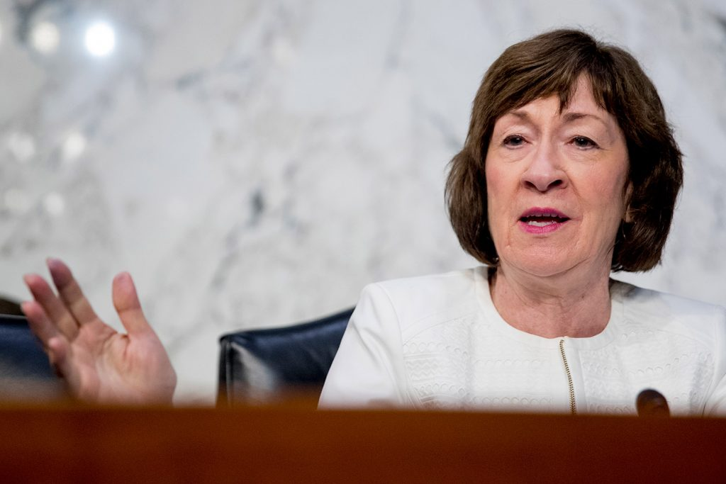 Reproductive rights advocates regard U.S. Sen. Susan Collins, R-Maine, as a critical piece of their last-ditch effort to prevent a potential rollback of the landmark 1973 ruling that prevents states from banning abortions.