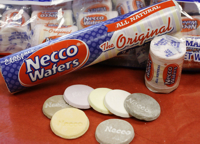 The owner of a company that makes candies such as Necco wafers and Sweethearts unexpectedly shut down operations at its Massachusetts plant.