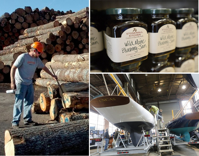 While Maine's top Canadian imports and exports – including lumber and pulp and paper products –will be mostly unaffected by new tariffs, the trade dispute is causing headaches for some industries, like specialty food manufacturers and boatbuilders.