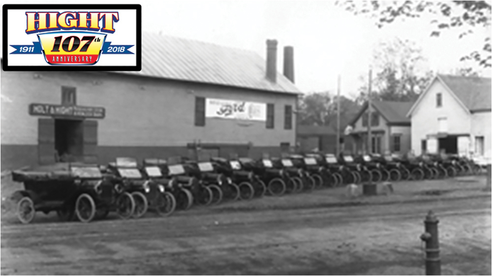Walter Hight opened the Skowhegan dealership in 1911.