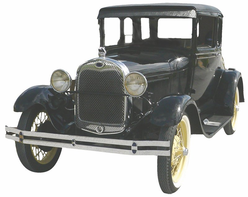 The Ford Model A.