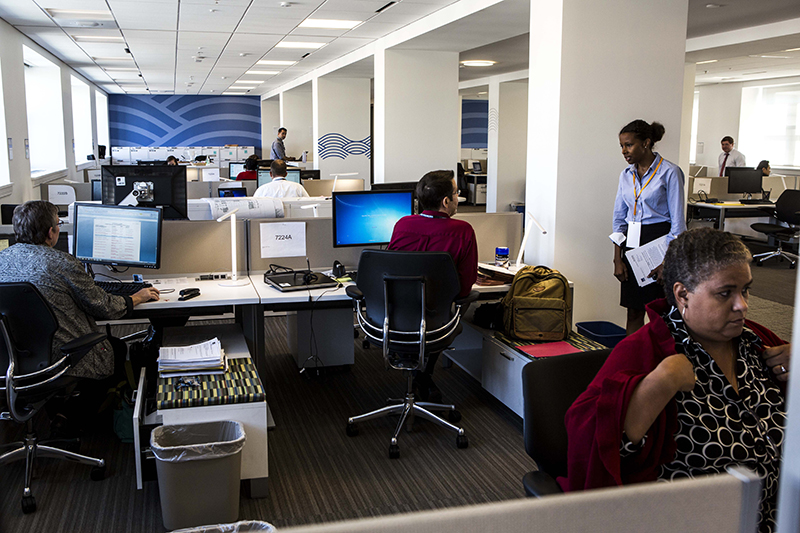 Open office plans are supposed to get people to interact more. One study suggests that workers have found new ways to avoid each other.