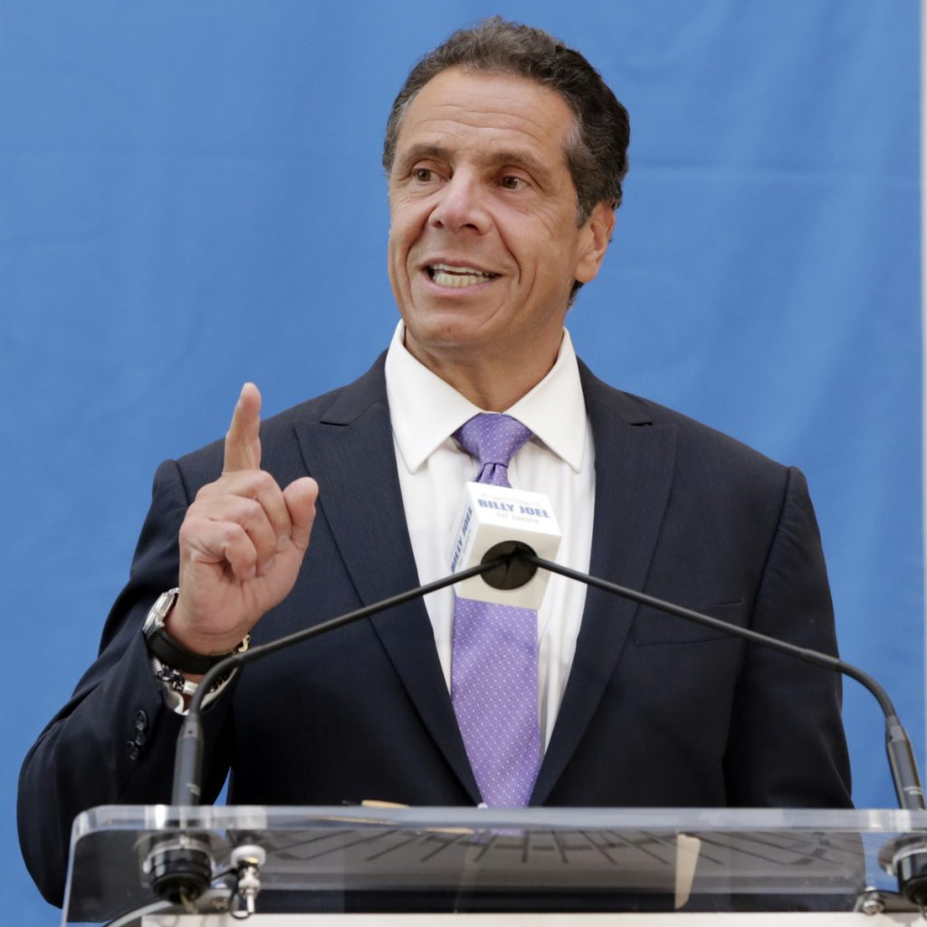 """New York Gov. Andrew Cuomo says, """"If I could have put the NRA out of business, I would have done it 20 years ago."""""""