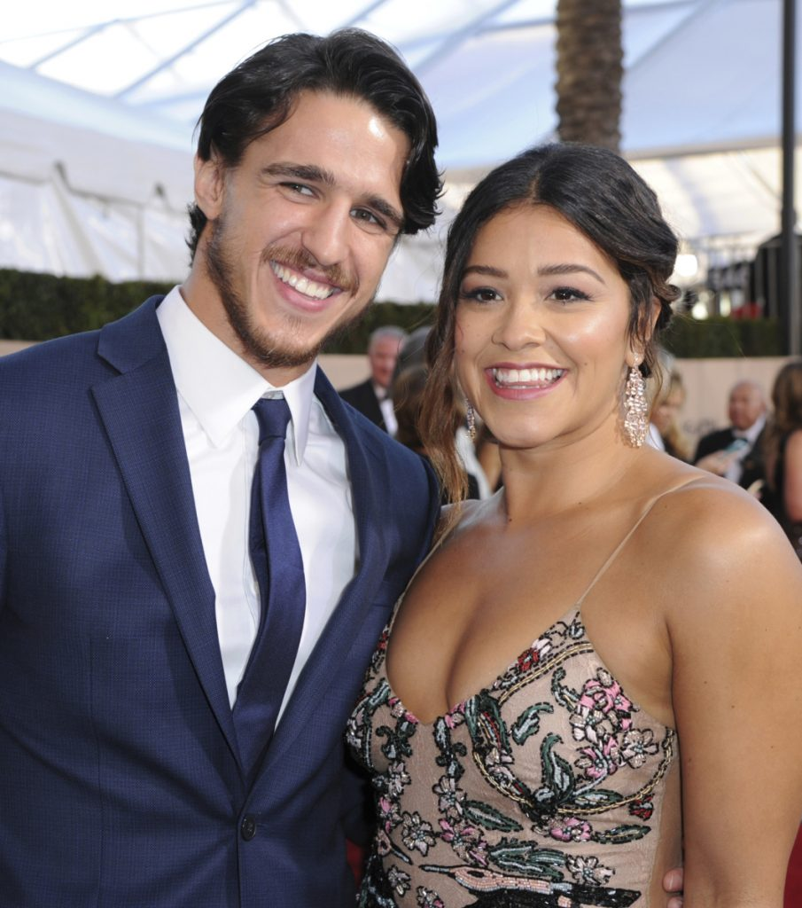 "Joe LoCicero and Gina Rodriguez met on the set of ""Jane the Virgin."""