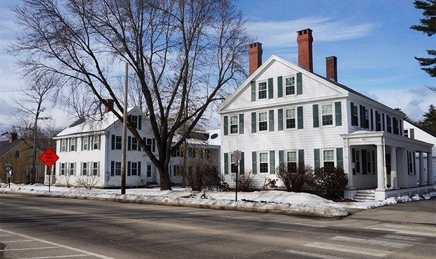 Waypoint Partners LLC has purchased North Yarmouth Academy's Weld and Shepley houses at 149 and 153 Main St. in Yarmouth.
