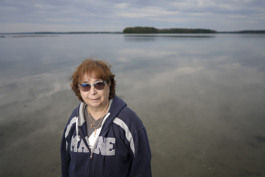 Pam Ferris Olson of Freeport is collecting stories for her Women Mind the Water project. Olson was searching for a way to show appreciation for women and water and found that the best way was to showcase multiple videos of Maine women and their stories of interacting with water.