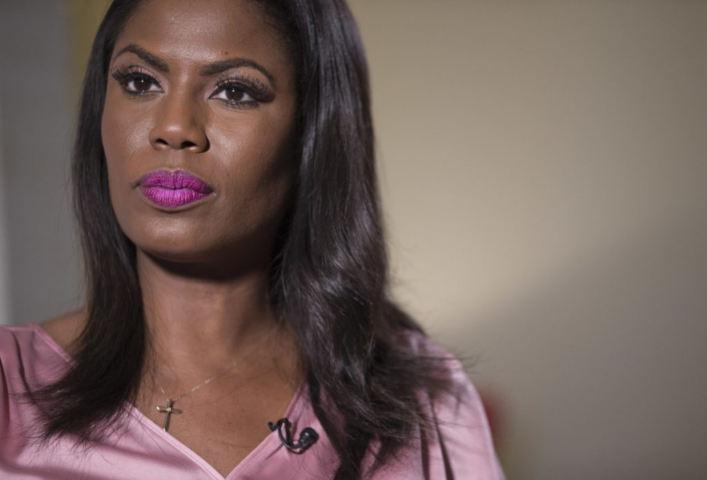 "Omarosa Manigault Newman says she has a ""treasure trove of multimedia backup for everything"" that's in her book and that she asserts about President Trump."