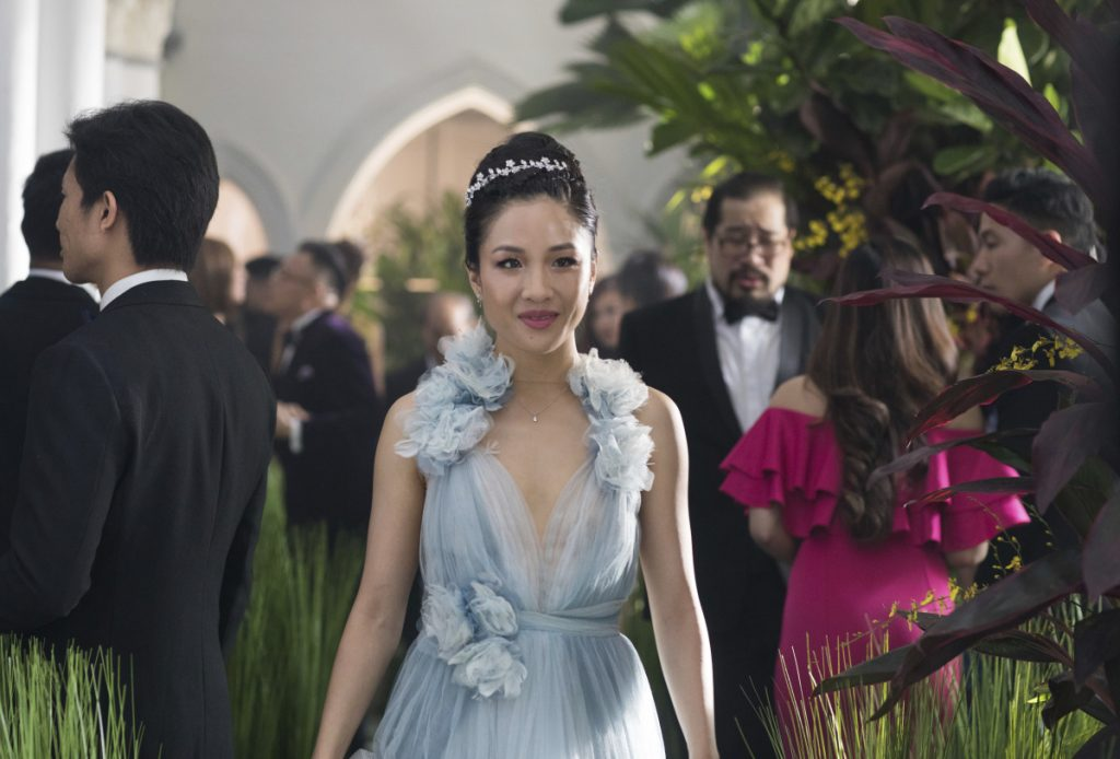 "Constance Wu in a scene from ""Crazy Rich Asians."""