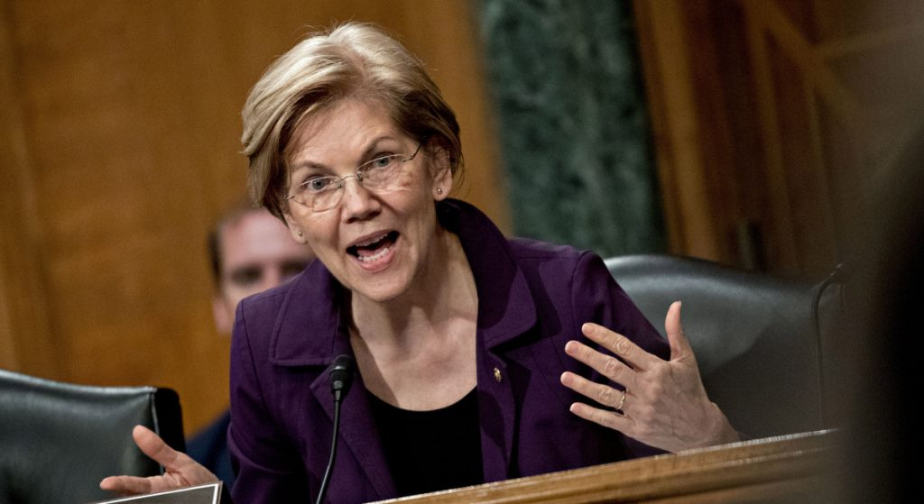 Sen. Elizabeth Warren, D-Mass., is proposing anti-corruption laws that ban lobbying across senior levels on all three branches.
