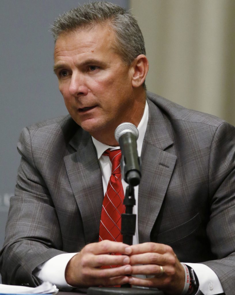 Urban Meyer treated one of his assistant coaches like family, shielding him from serious domestic violence allegations, and it almost cost him his job as football coach at Ohio State.