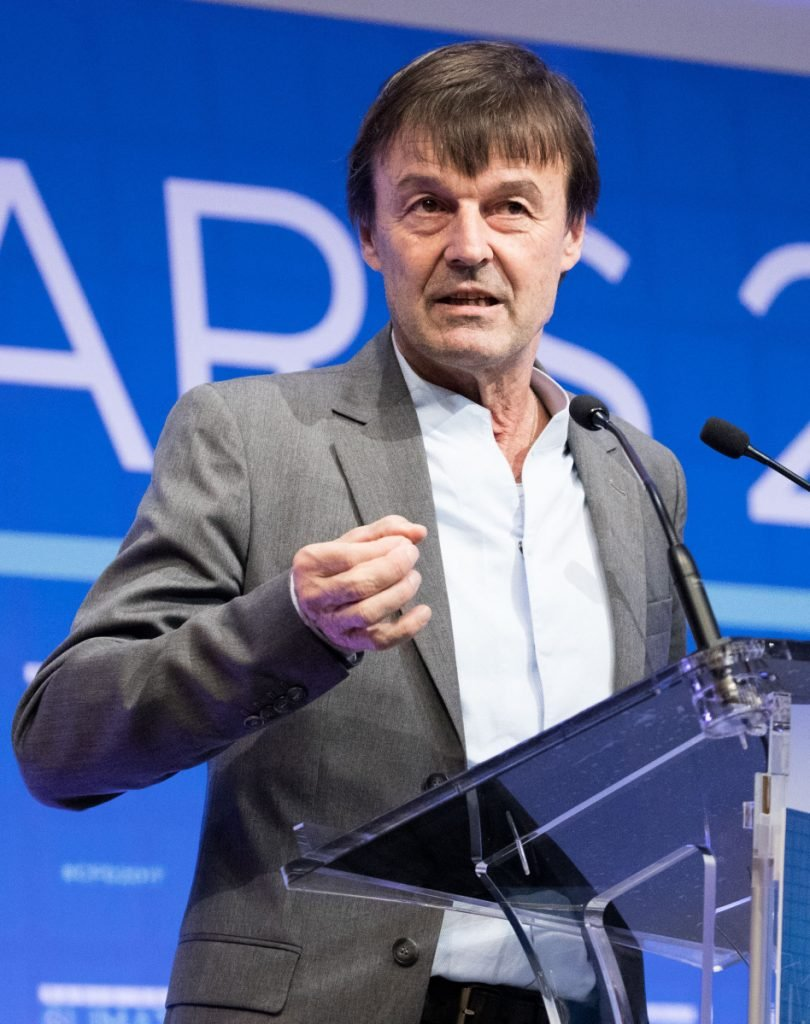 Nicolas Hulot resigned as France's minister for energy and the environment Tuesday.