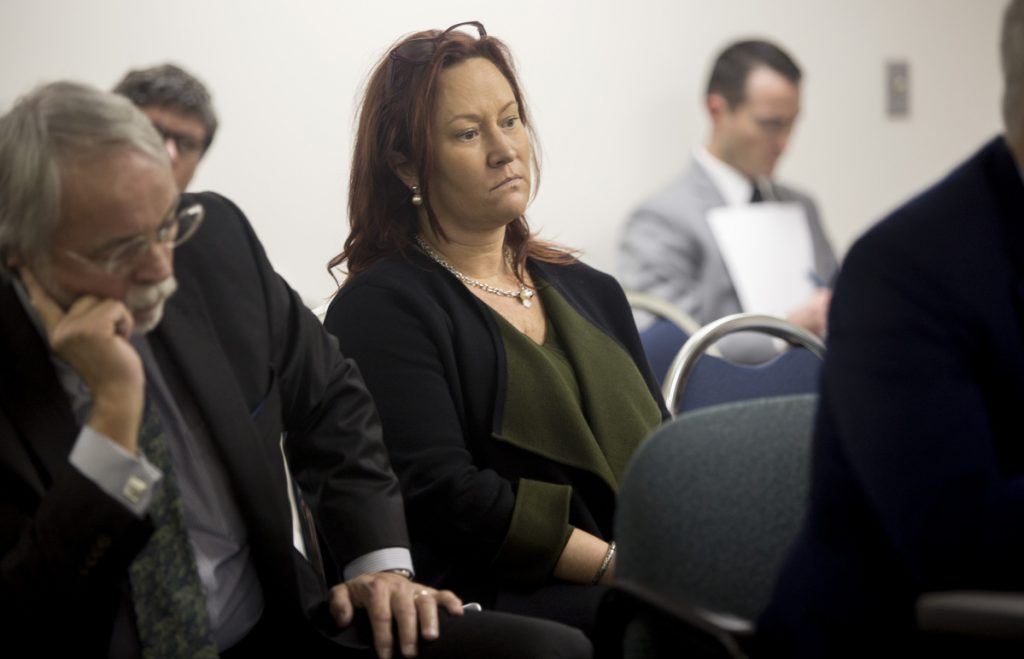 The companies of Lisa Scott, seen in November, who led the York County casino campaign, and its treasurer, Cheryl Timberlake, will each pay $50,000 of the $100,000 penalty for flawed reports.