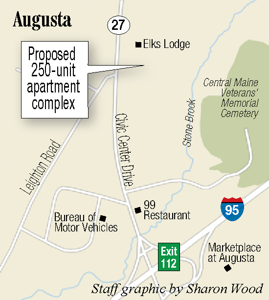 Apartments For Rent In Augusta Maine: Augusta Board Backs Zone Change To Make Way For 250-unit
