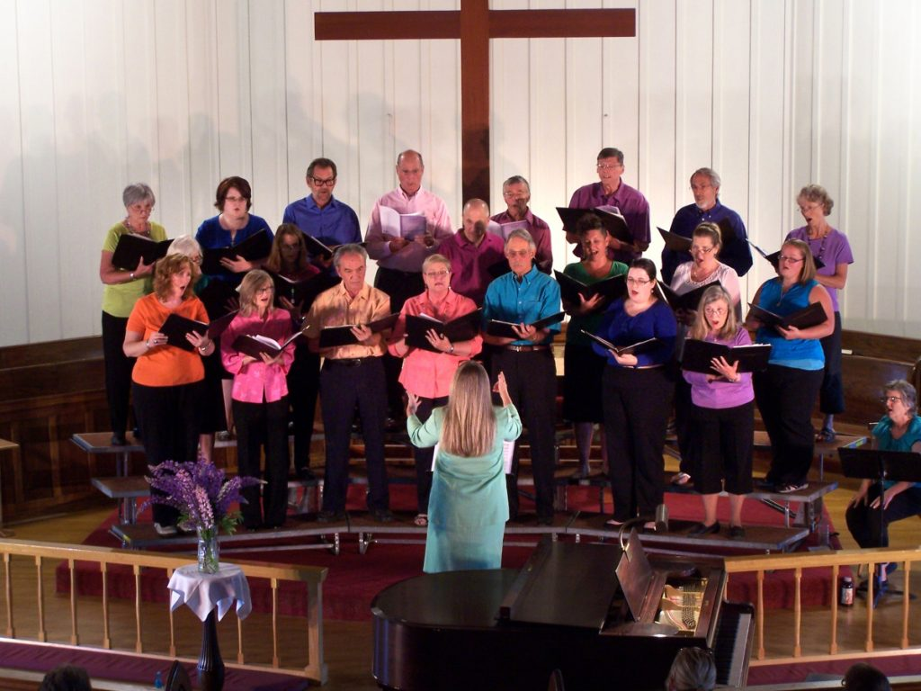 Rangeley Community Chorus will perform at 7 p.m. Friday, Aug. 24, at the Church of the Good Shepherd, 2614 Main St., in Rangeley.