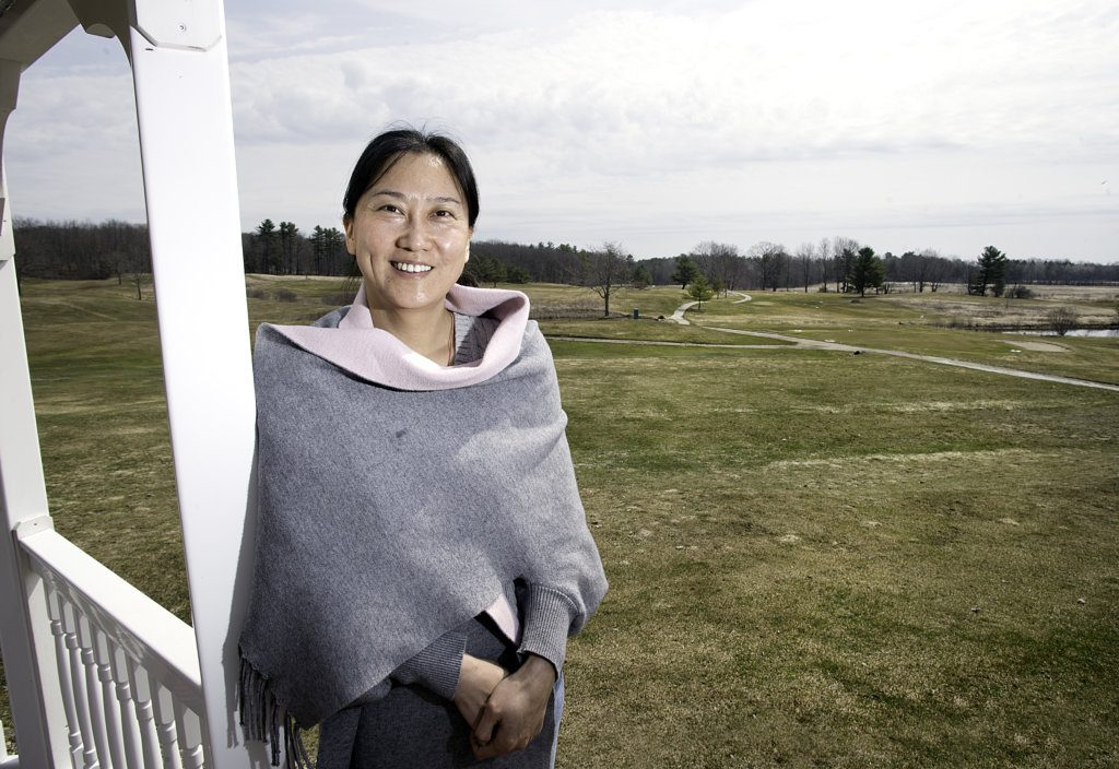Fang Cheng Morrow, president of Mingjing Industry Group Co., bought Prospect Hill Golf Course in Auburn last year and invested in improvements immediately.