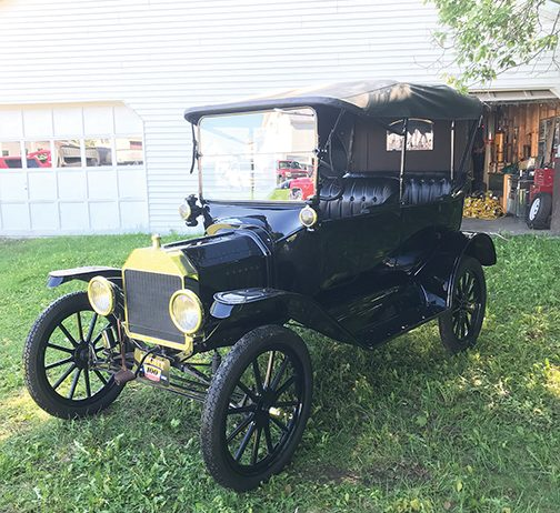 During this 200th anniversary of the Skowhegan State Fair, the Hight family will share their 70-car collection of restored antiques, including this 1913 Ford Model T.