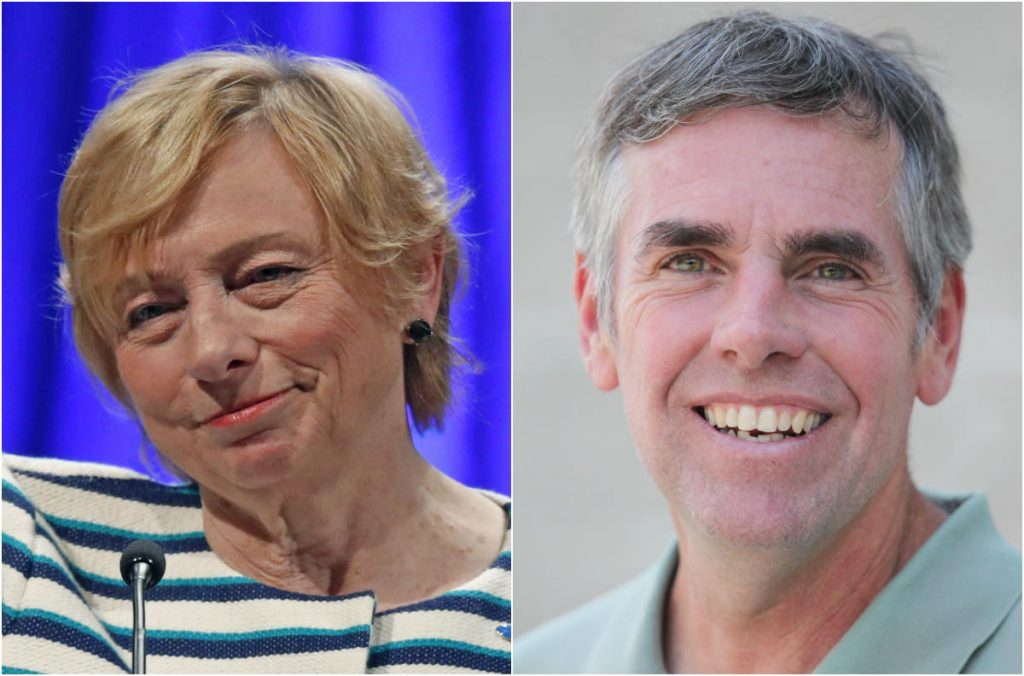 Democrat Janet Mills and Republican Shawn Moody come out even among older Maine voters in a new survey by AARP.