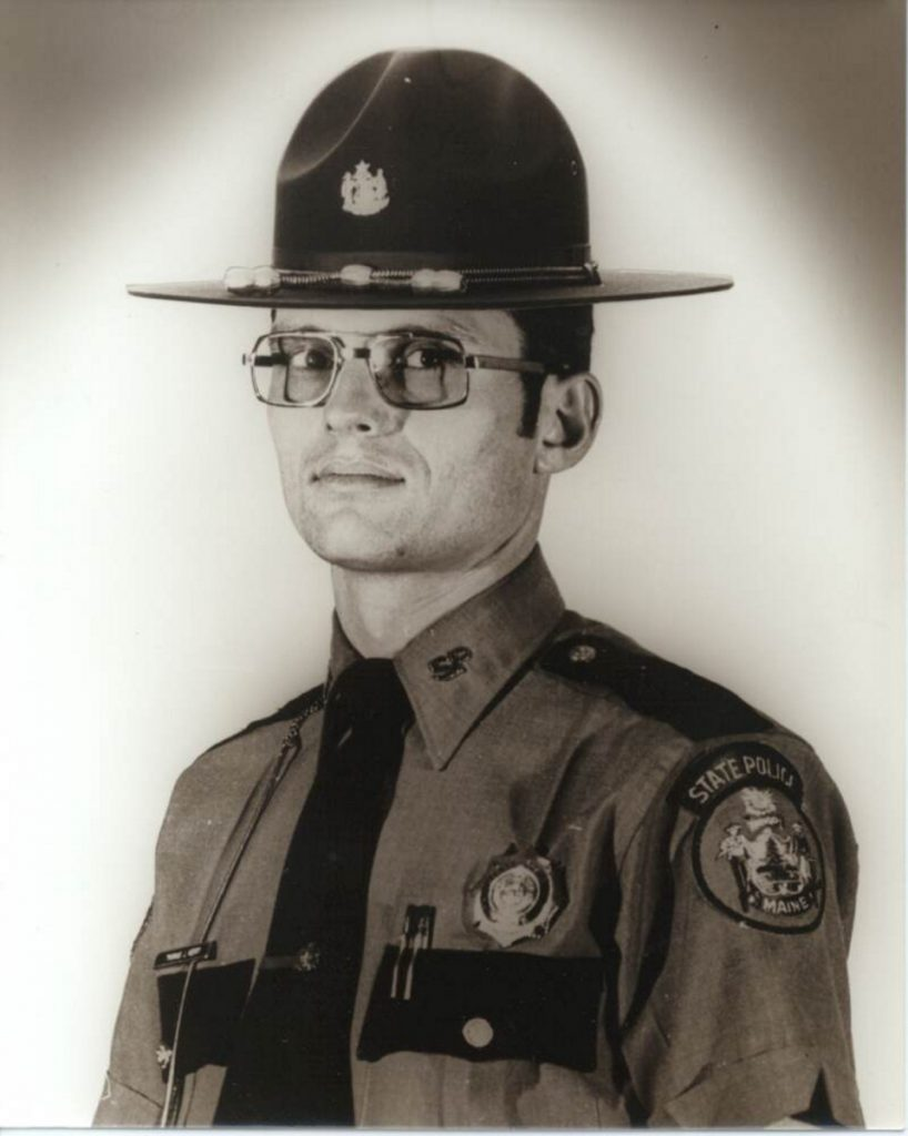 Maine State Police Trooper Thomas Merry