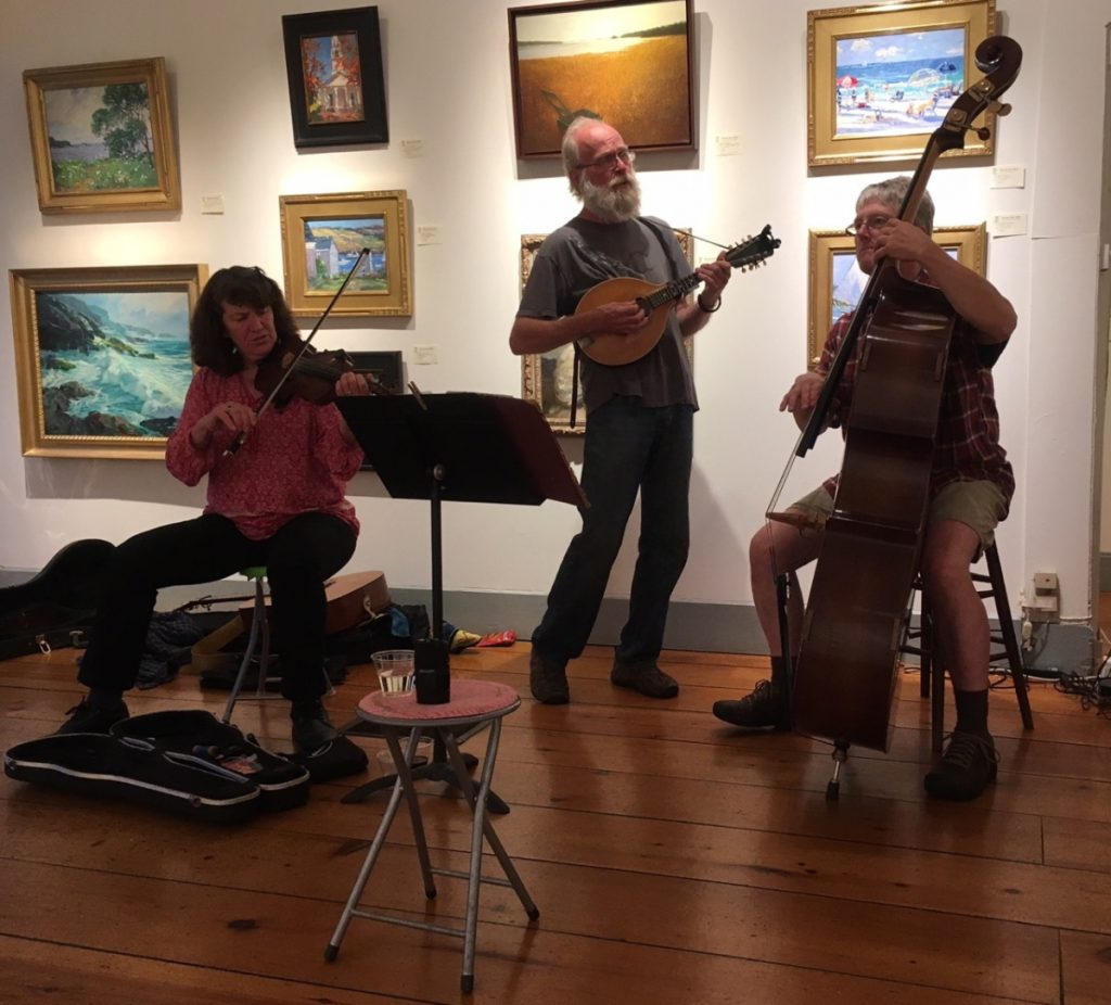 Married with Chitlins will perform at the Wiscasset Art Walk from 5 to 8 p.m. Thursday, Sept. 27, at Wiscasset Bay Gallery on Front Street.