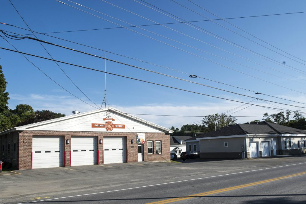 Oakland's fire station is slated to be replaced with a new building, a new 12,000-square-foot fire house that would be built next to the existing one on land donated from Messalonskee Stream Hydro.