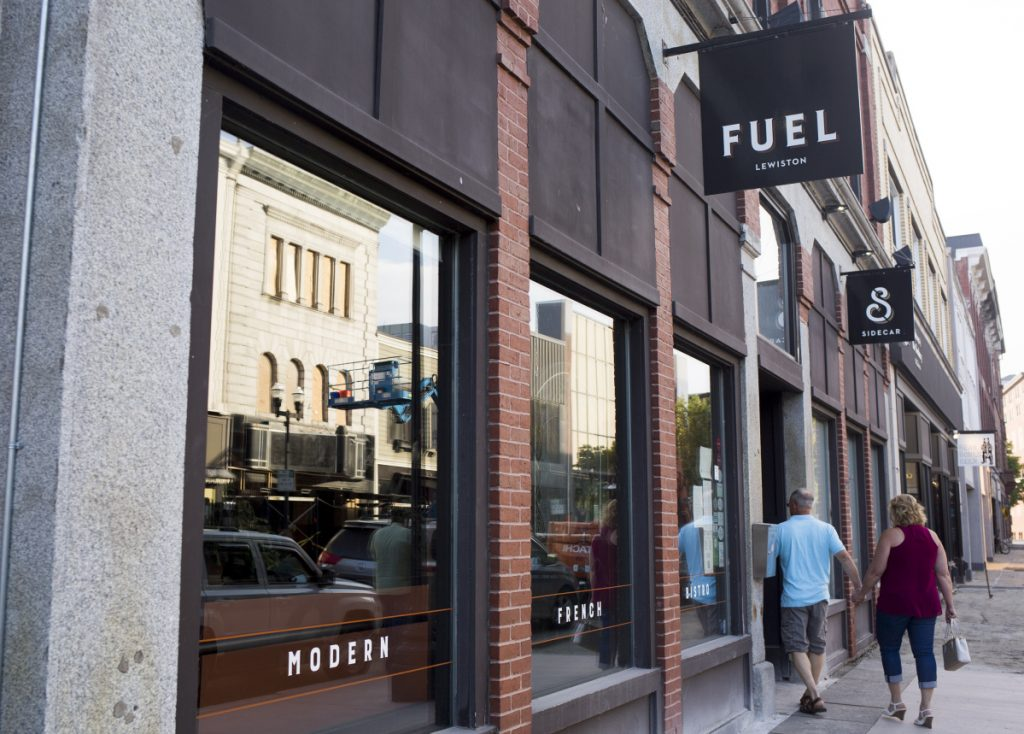 Fuel has been visited by several celebrities over its 11 years in Lewiston, including Patrick Dempsey, Kelly Ripa and Robert De Niro.