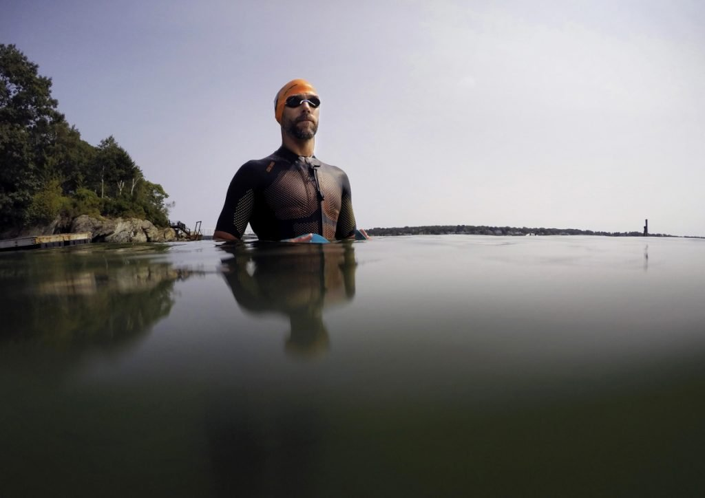 John Stevens knew triathlons weren't the answer because, well, he admits he's not a great cyclist. But open-water swimming? He's won the Peaks to Portland six times. And running? He's a lifelong island hopper. So swimrun is his sport, and now he's going for a world title.