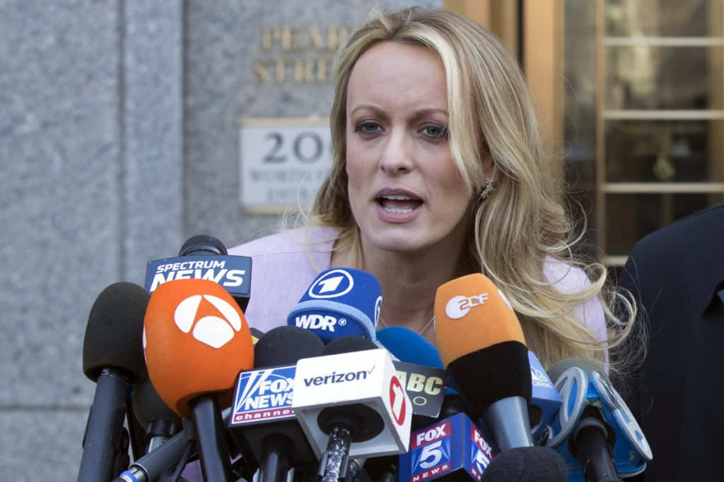 Stormy Daniels has argued that a $130,000 agreement should be invalidated because Donald Trump's lawyer signed it, but the then-presidential candidate did not.
