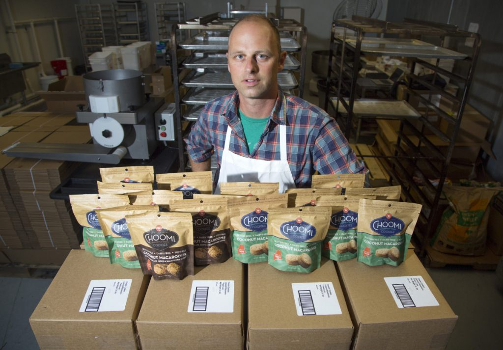 """Zinn recalls talking to a Hannaford cookie buyer about Choomis: """"I just laid it on the table. I said man, I've been driving these things around in my Subaru for four years. I've put so much time and effort into this… and I know this product is going to work."""""""
