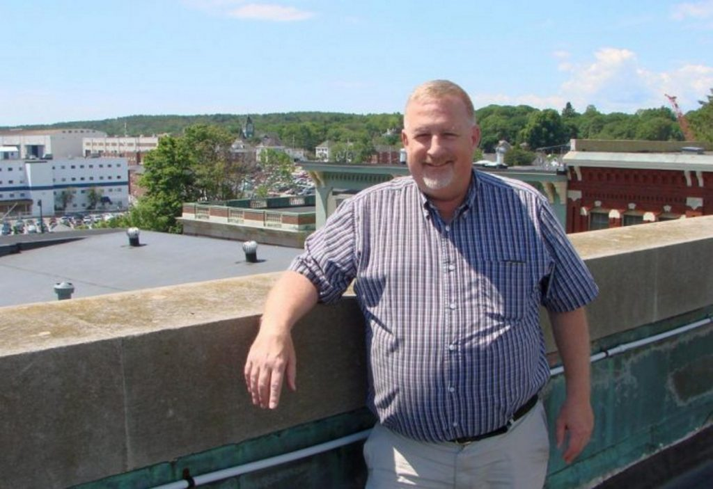 """I like Standish – always have,"" says Bill Giroux, the new interim manager. ""It's a nice town and ... has grown a lot."""