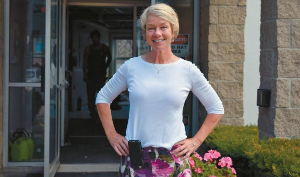 AMY MCLELLAN, owner of The McLellan in Brunswick. Times Record file photo