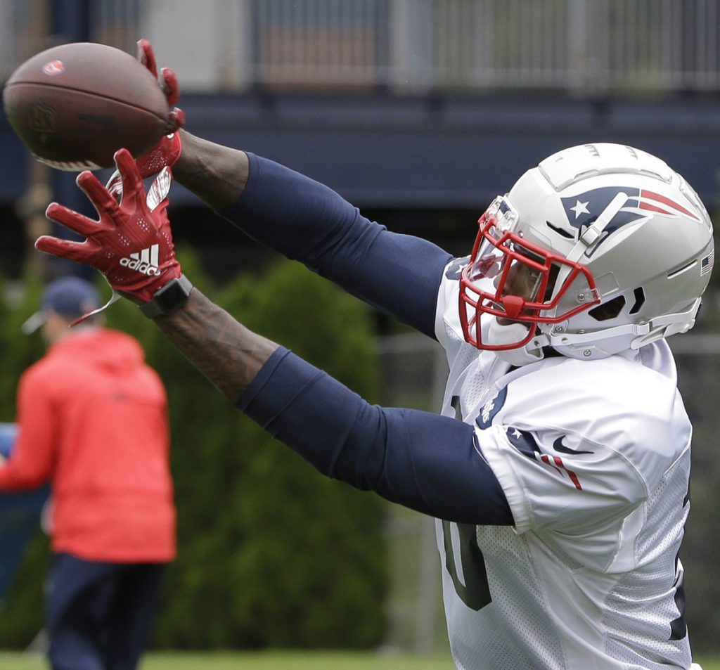Josh Gordon, who has played in a limited number of games over the last five years because of drug-related suspensions, may make his debut Sunday night for the New England Patriots at Detroit.