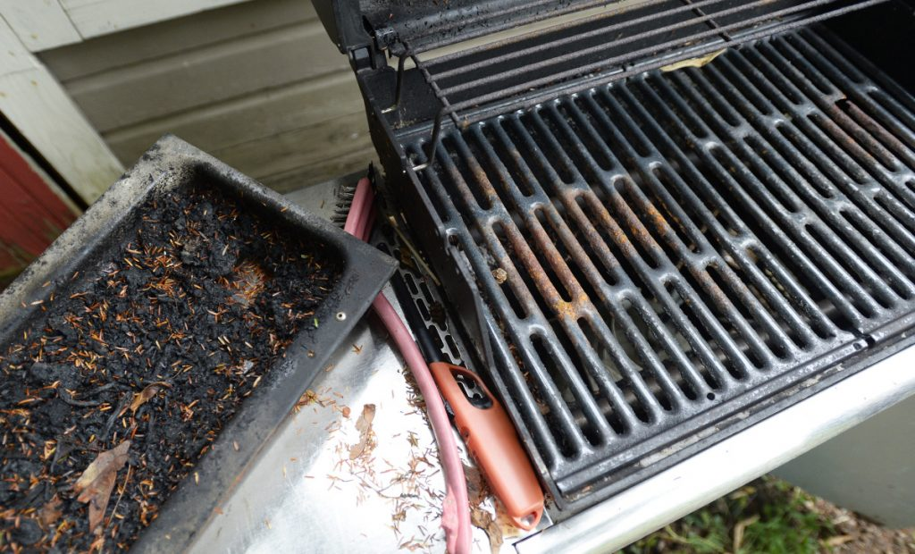 Mary Pols' gas grill will need new cooking grates, among other things.