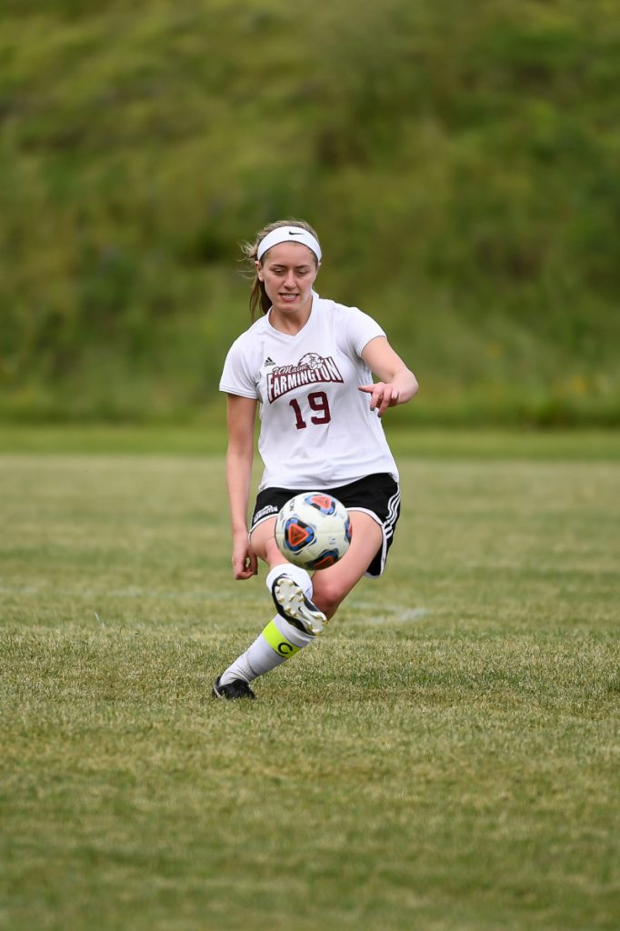 Waterville native Morgann Tortorella will be counted on to once again provide needed production up top for the University of Maine at Farmington women's soccer team this fall.