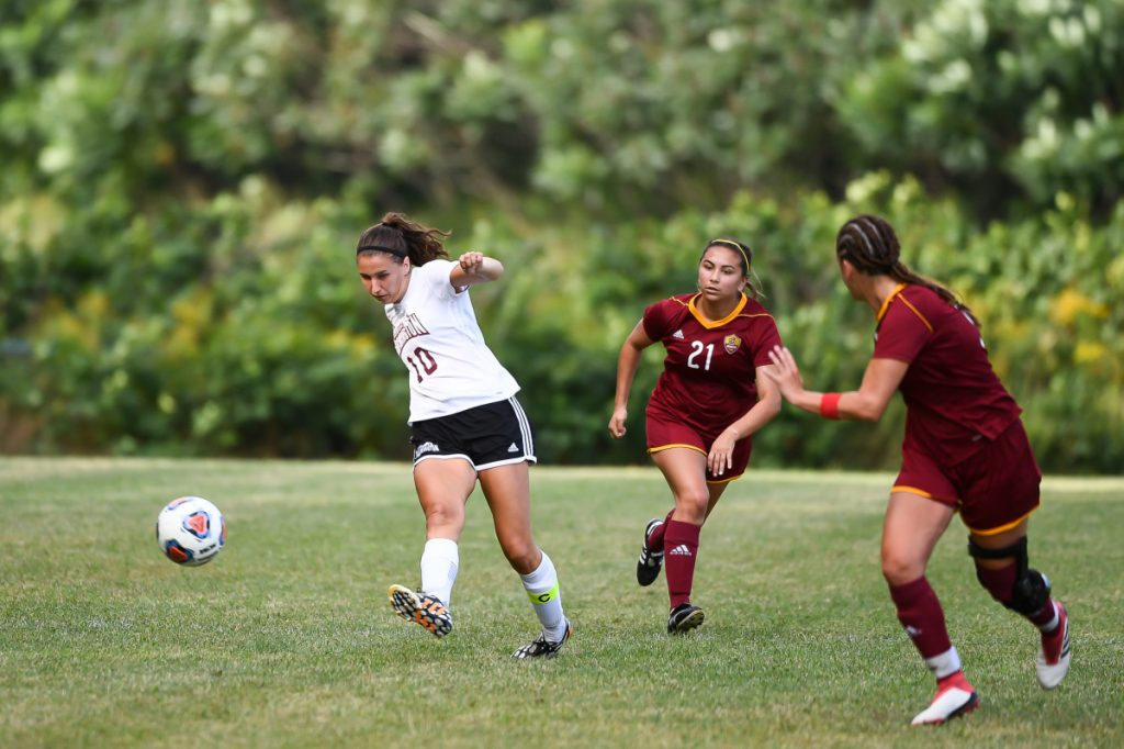Waterville native Lydia Roy will be counted on to provide some production up top for the University of Maine at Farmington women's soccer team this fall.