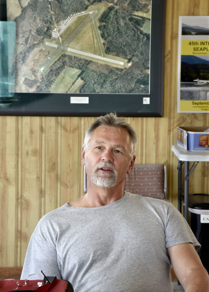 Pilot Jeff Paine, of Madison, said on Wednesday that he has not experienced any bird problems when flying from Central Maine Regional Airport in Norridgewock, which is close to Waste Management's Crossroads Landfill.