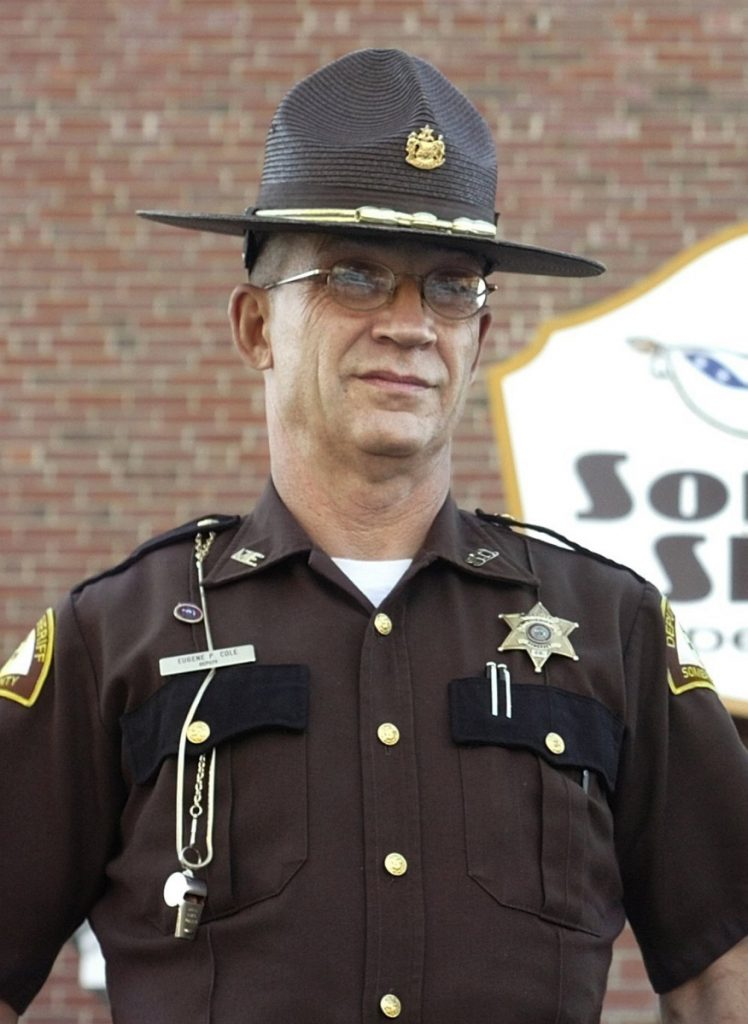 Cpl. Eugene Cole, a 62-year-old deputy with the Somerset County Sheriff's Office seen here in 2007, was killed April 25 while responding to a reported robbery in Norridgewock.