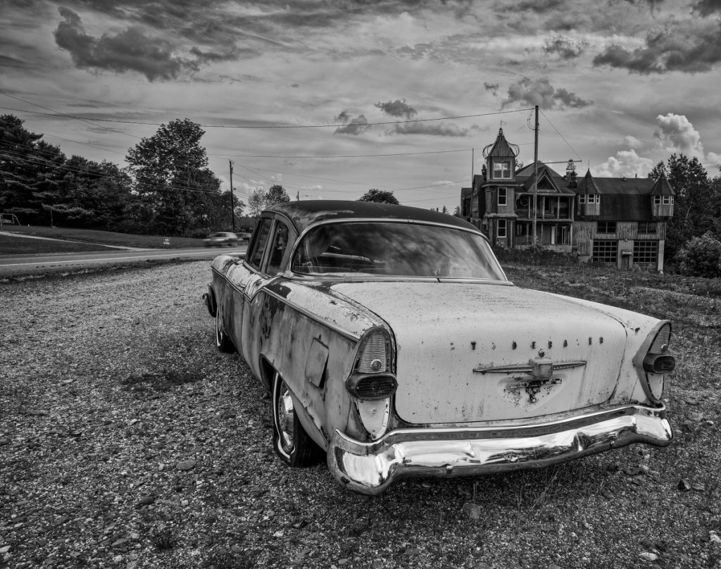 """Studebaker,"" a photograph by Lydia Rogers, will be one of the images on Display at the Western Mountain Photography Show on Sept. 14 and 15 at the Historic Rangeley Inn in Rangeley."