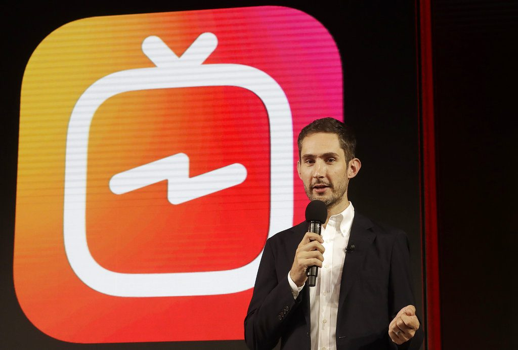 """In a statement late Monday, Kevin Systrom, CEO and co-founder of Instagram, said in a statement that he and Mike Krieger, Instagram's chief technical officer, plan to leave the company in the next few weeks and take time off """"to explore our curiosity and creativity again."""""""