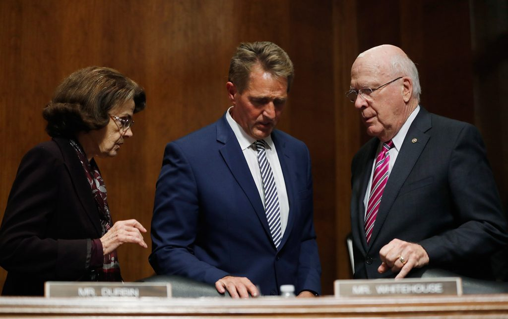 Arizona Sen. Jeff Flake a `yes' on Kavanaugh, in a big lift