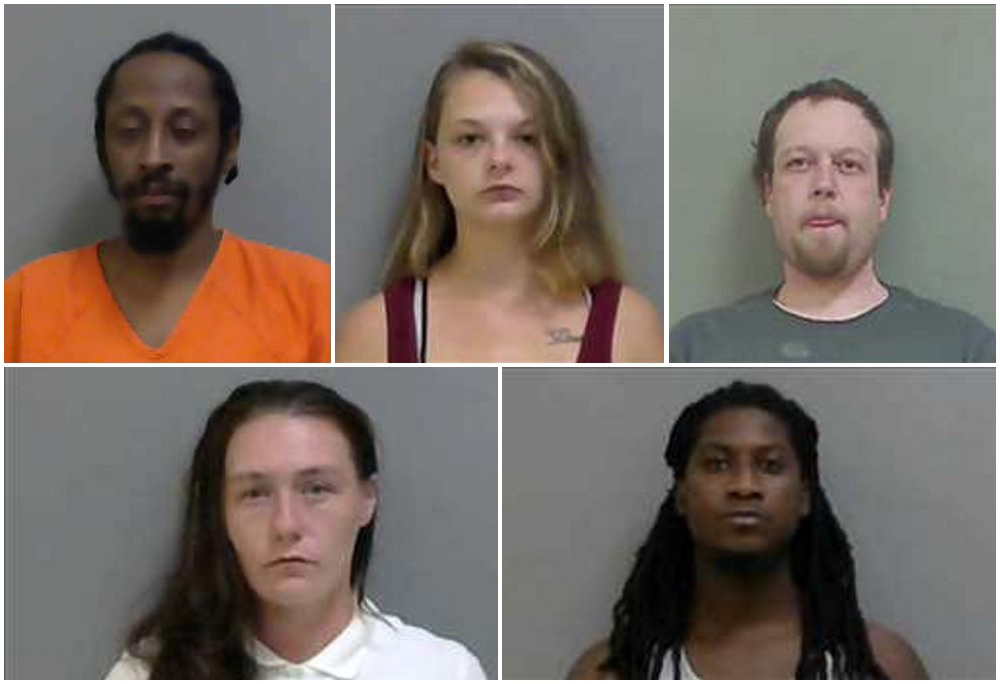 Five arrested in Detroit drug raid indicted on charges