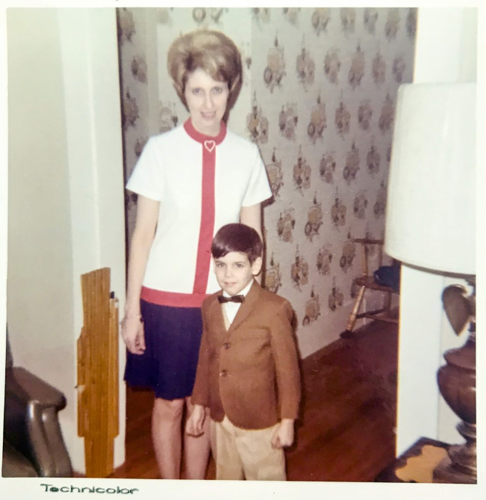 This undated Amero family photo shows Pat Amero and her son, Rick Amero.